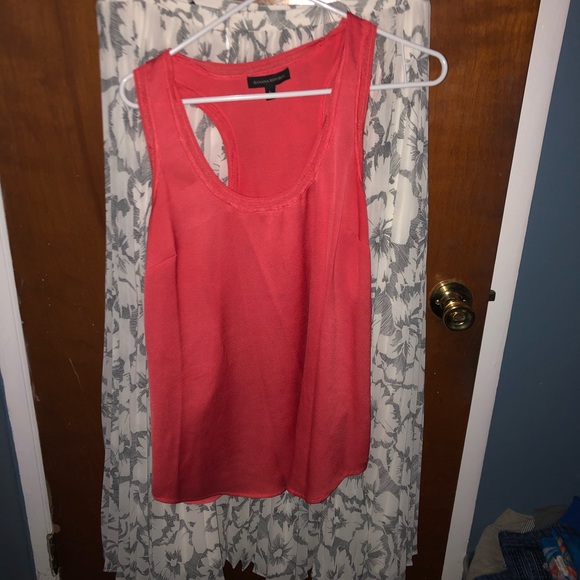 Banana Republic Pleated Skirt with tank included